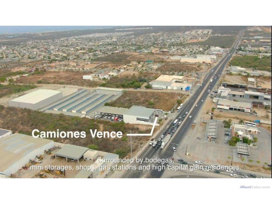 se renta terreno en zona industrialcomericial 80000 mxn
