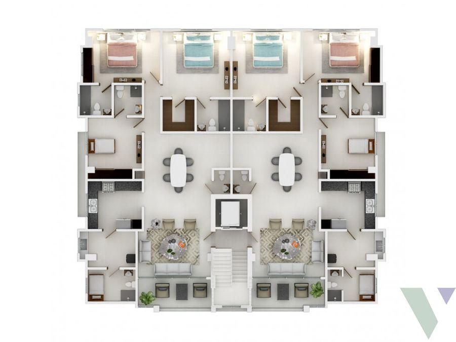 mirador sur apartamentos 3 habitaciones