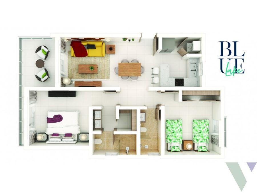 blue lake apartamento punta cana