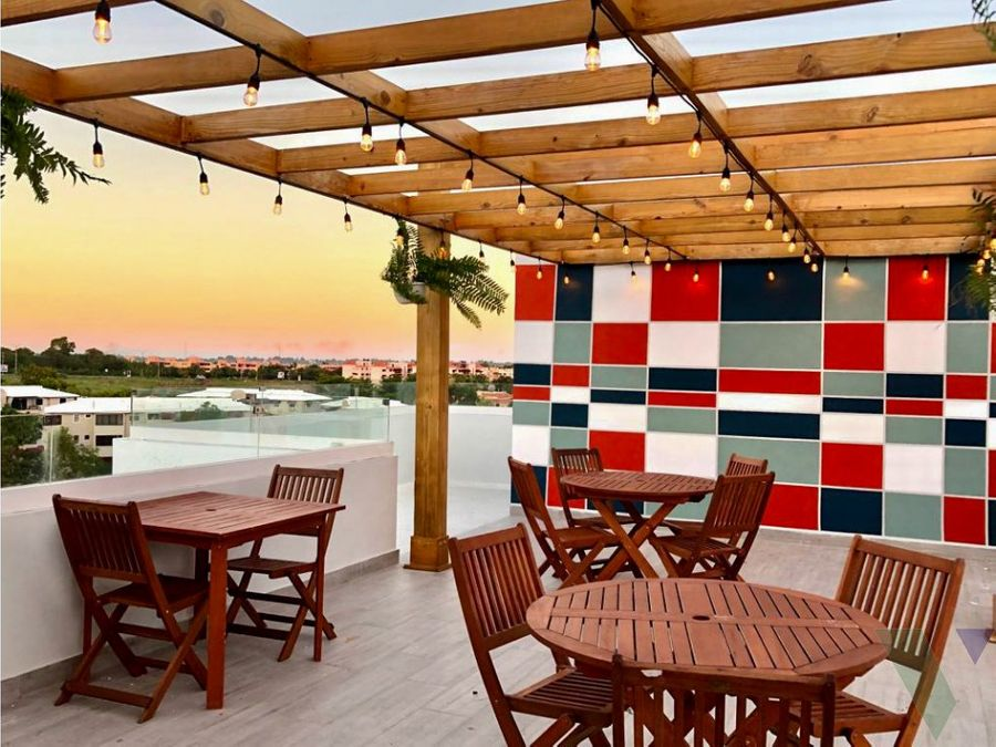 penthouse en venta terrazas del parque ave jacobo majluta
