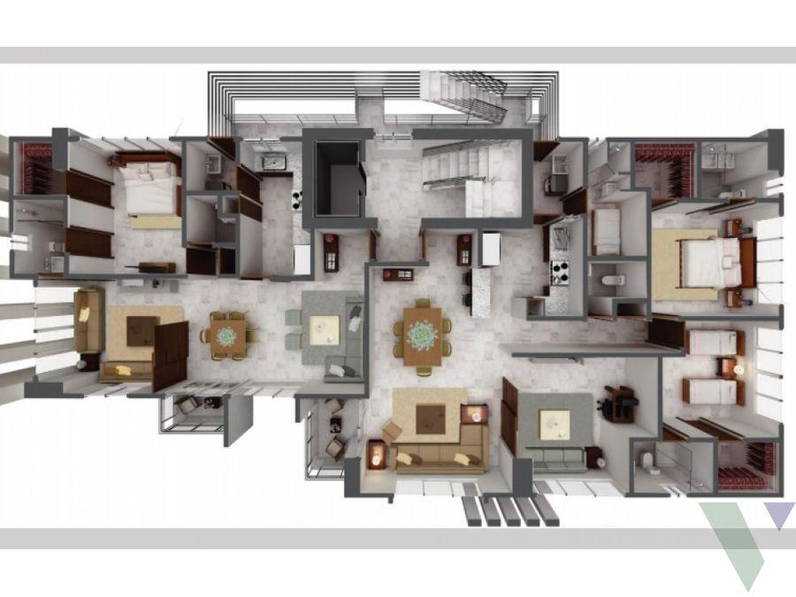 urbe 7 apartamentos 2 hab la esperilla