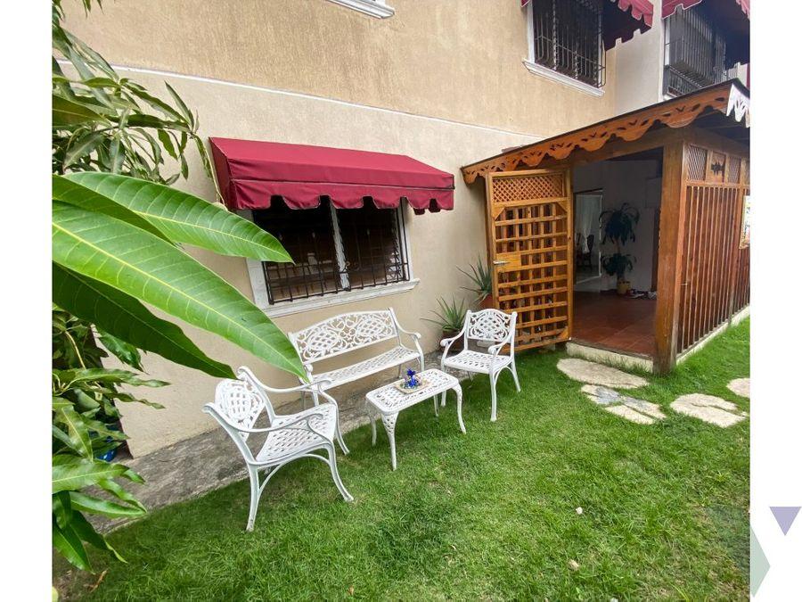 apartamento en venta primer nivel patio y terraza ciudad real dn