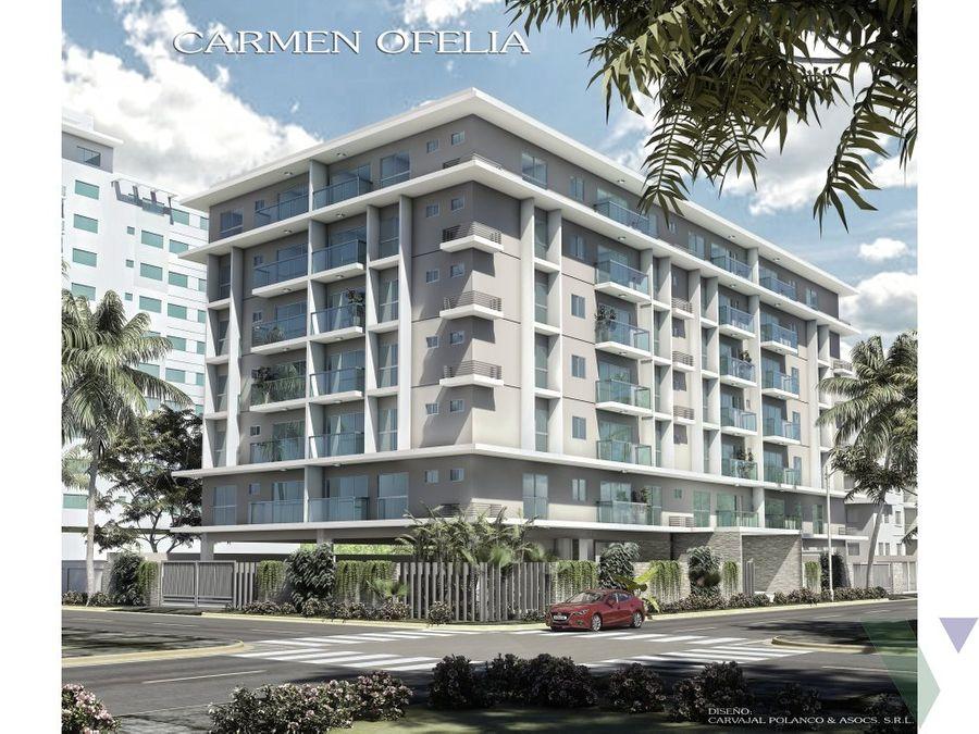 torre carmen ofelia iii apartamentos en venta en gazcue