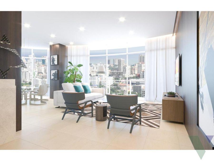 apartamentos en venta 1 2 y 3 habitaciones piantini