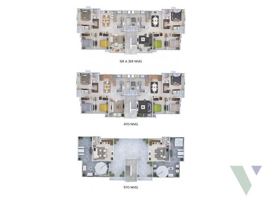 apartamentos venta 3 hab altos colombia vitahome