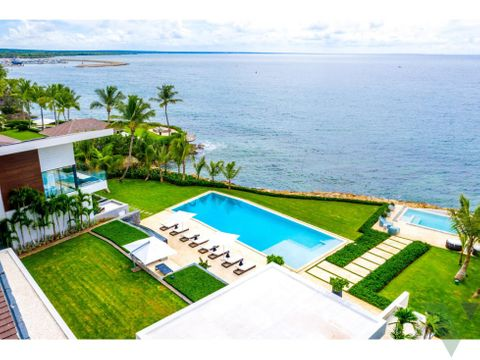 luxury beachfront house for sale casa de campo