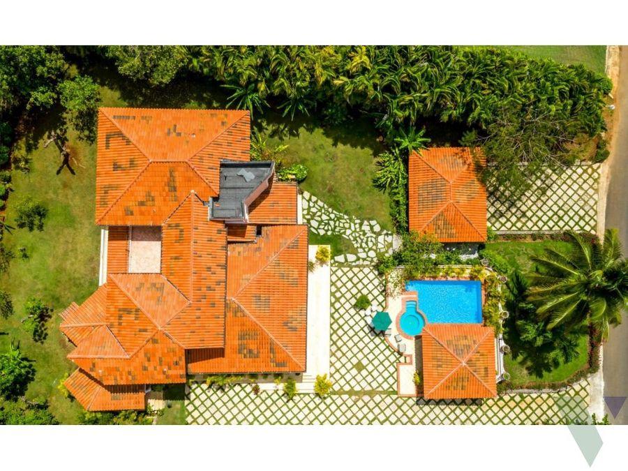villa en venta la romana casa de campo vivero 72