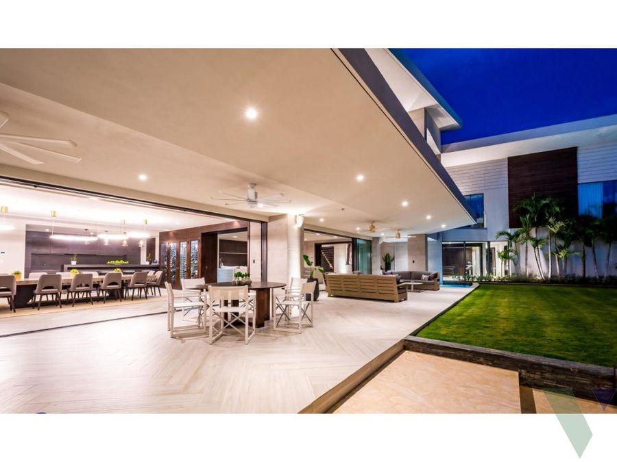 luxury beachfront house for sale casa de campo
