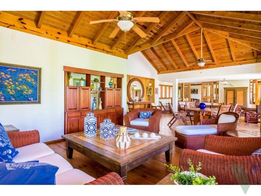 villa en venta la romana casa de campo barranca