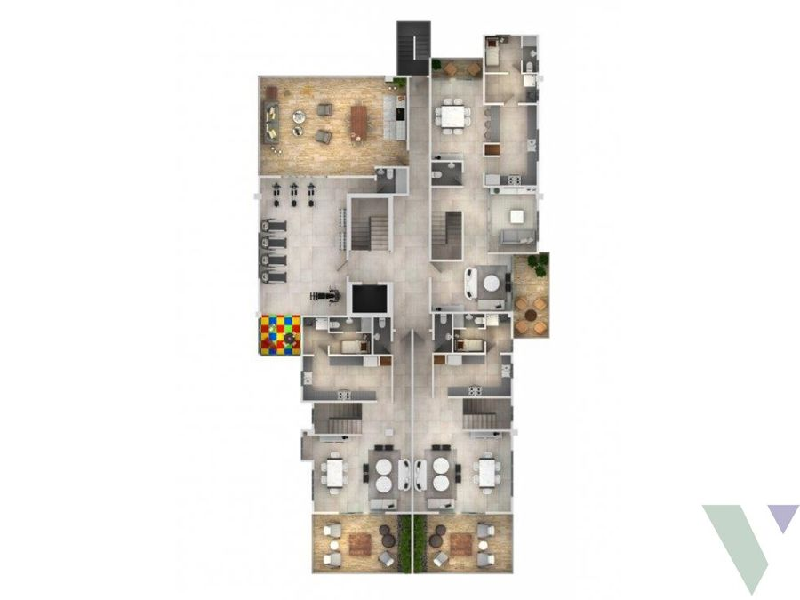 jeshua 6 apartamentos 1 hab renacimiento