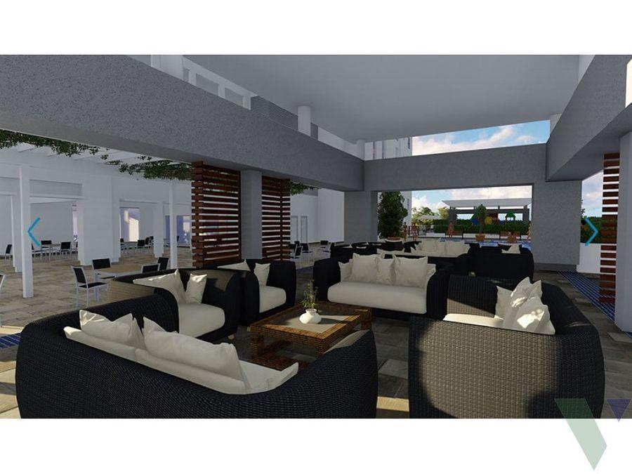 apartamentos en venta villa palmera ocean front 2 hab juan dolio