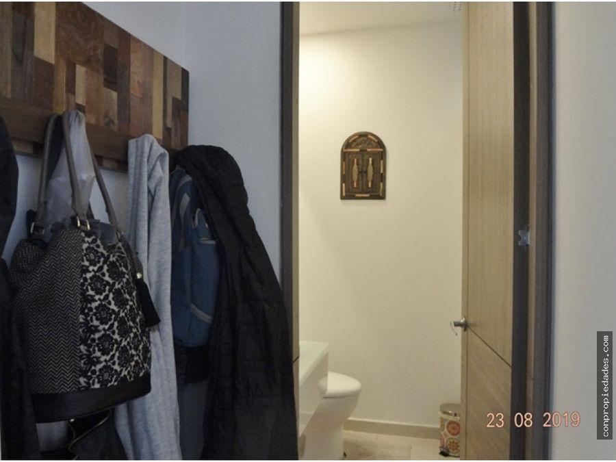 apartamento en arriendo santa barbara central 118m2