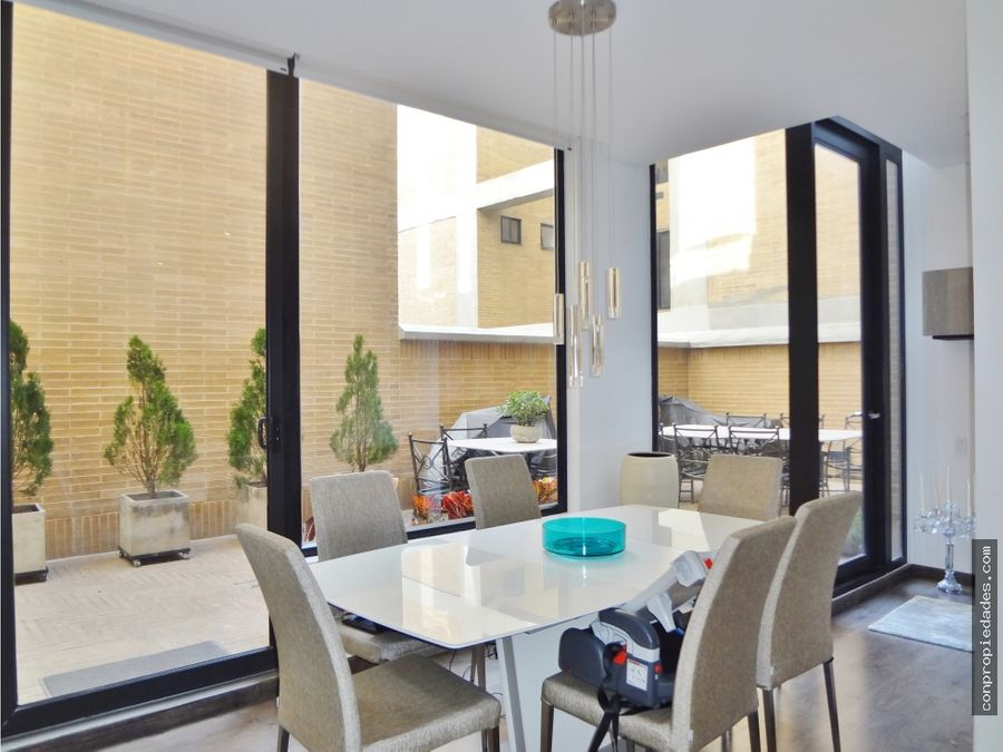 suntuoso apartamento en venta chico navarra 105m262m2 terraza