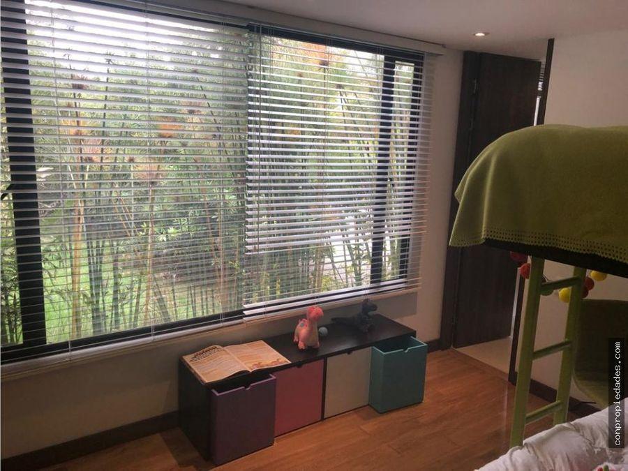apartamento en venta camino del bosque 190m2