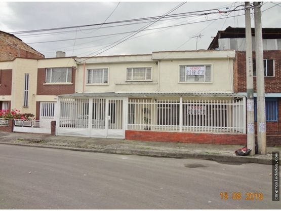 venta casa barrio villamar bogota lote de 195m2