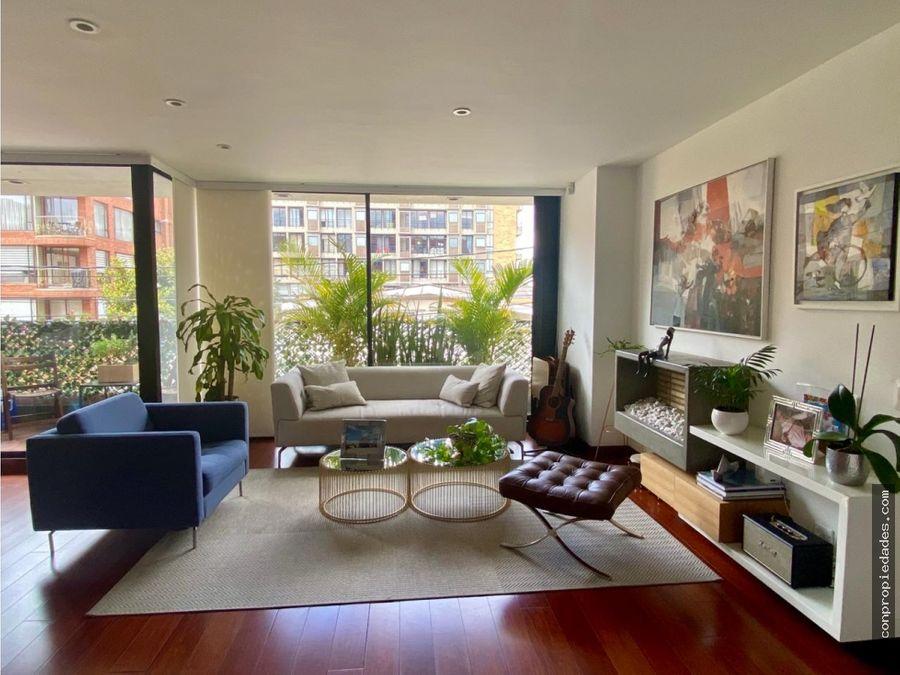 apartamento en venta chico navarra 137m2 11 terraza