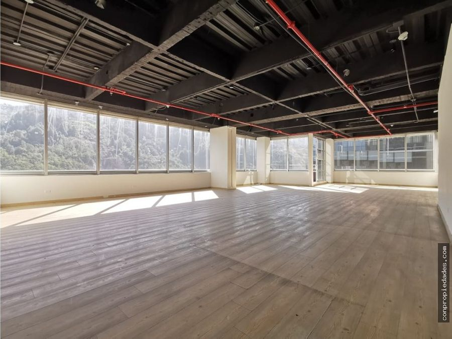 venta oficina north point 140m2terraza 5m2