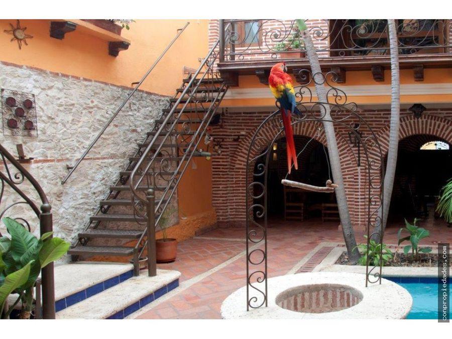 casa hotel boutique en venta centro historico de cartagena