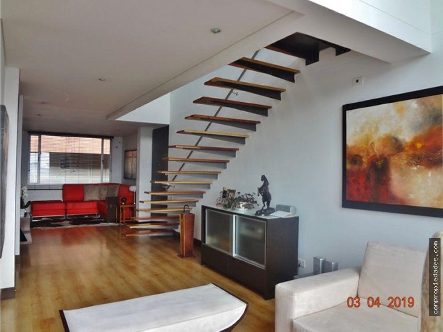venta apartamento penthouse bosque medina 206m2