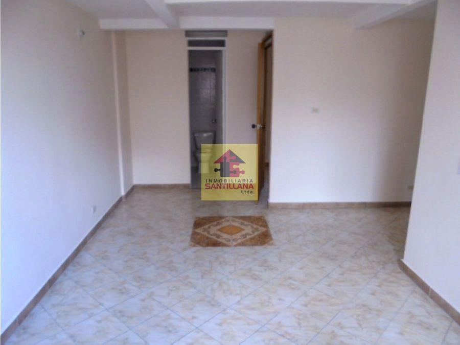 calsania arriendo apto 4to piso unidad cerrada