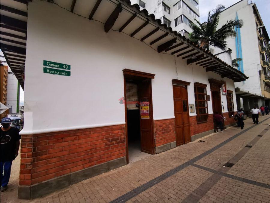 arriendo local zona centro en el parque bolivar 1