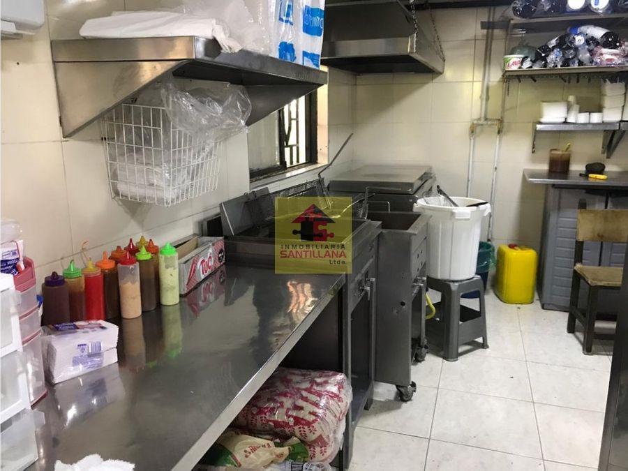 local restaurante amoblado robledo x esumer