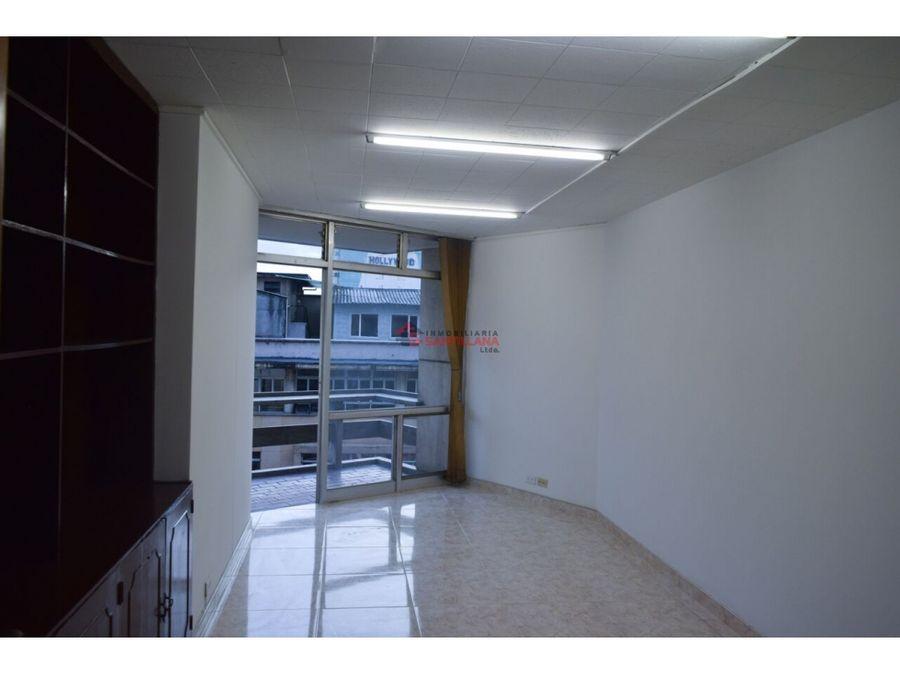 oficina en el centro sobre av colombia