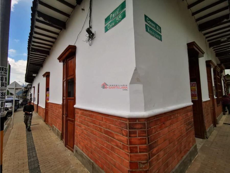 arriendo local zona centro en el parque bolivar 4