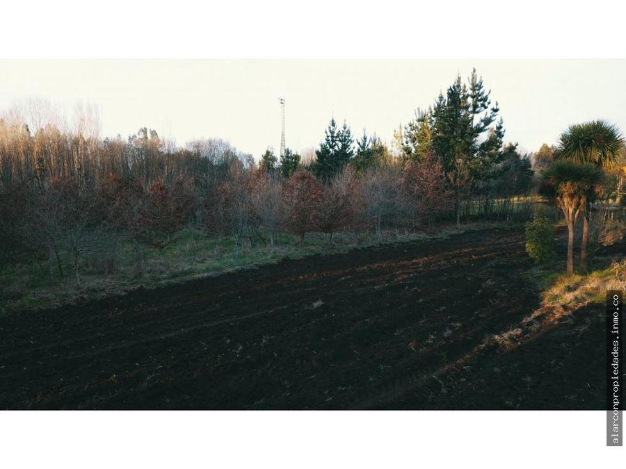 terreno cerca de temuco sector quepe
