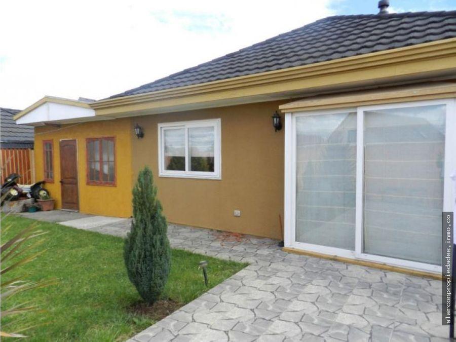 casa exclusivo condominio fundo el carmen