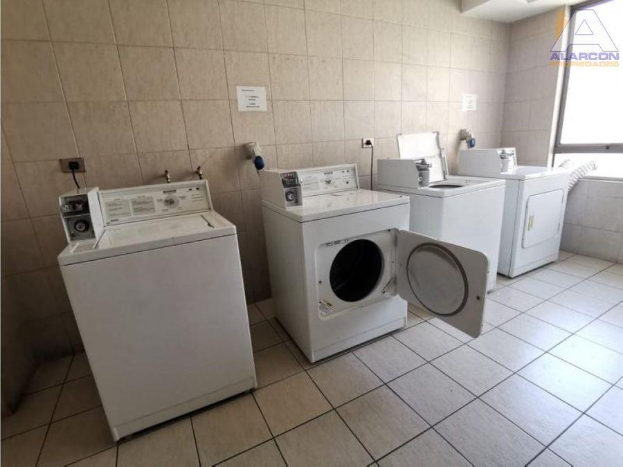 departamento amoblado condominio mistral