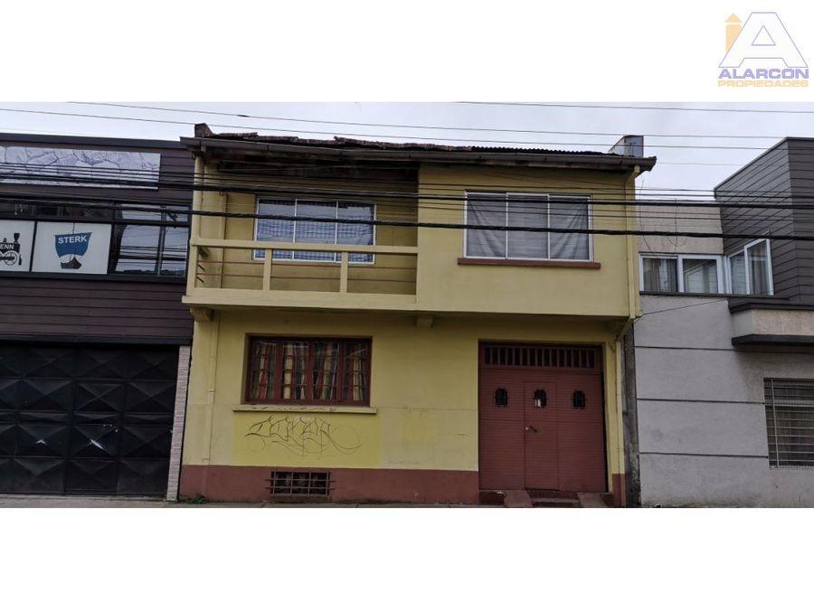casa sector centro las heras temuco