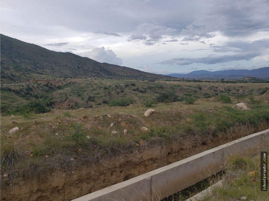 lote en venta 166 hectareas en el valle