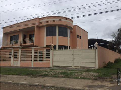 venta casa con galpon san jacinto tarija