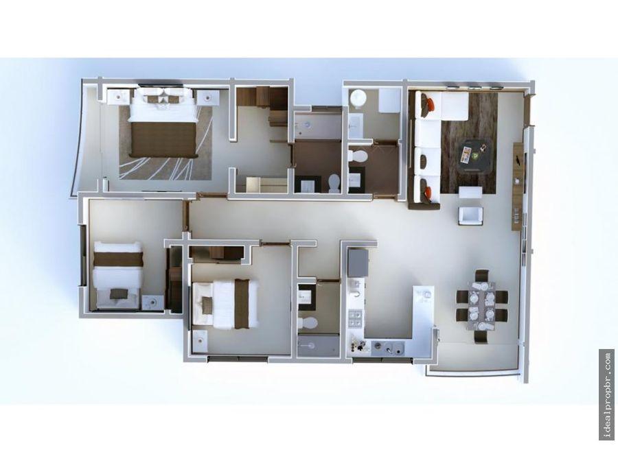 en venta departamento 3 dormitorios san geronimo