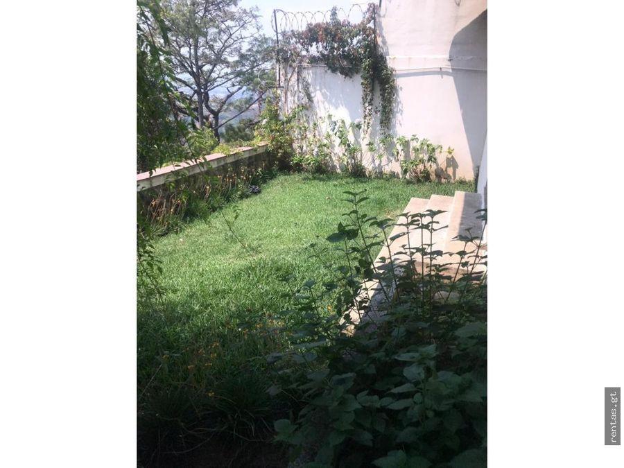 casa en venta la canada zona 14