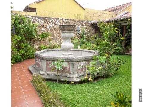 propiedad en antigua guatemala