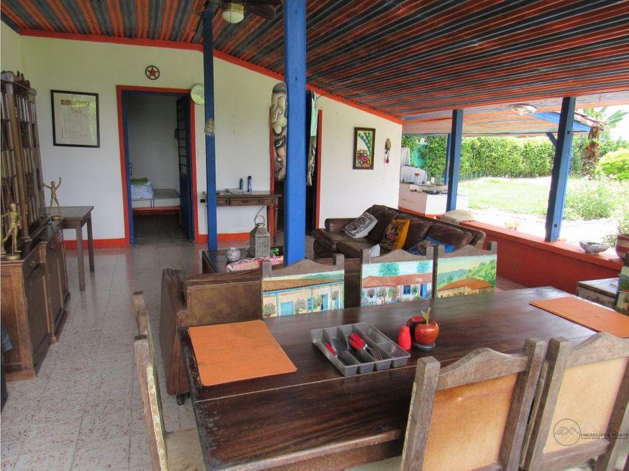 venta hermoso chalet sector parque del cafe
