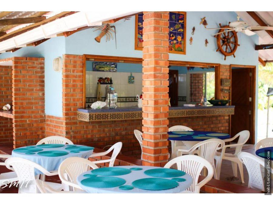 casa de playa en venta en baru