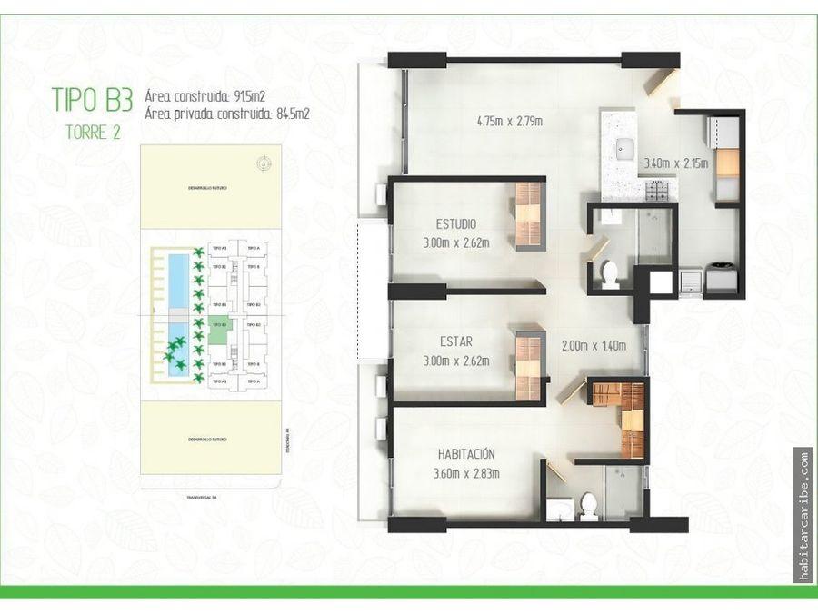 proyecto apartamentos en venta en la troncal
