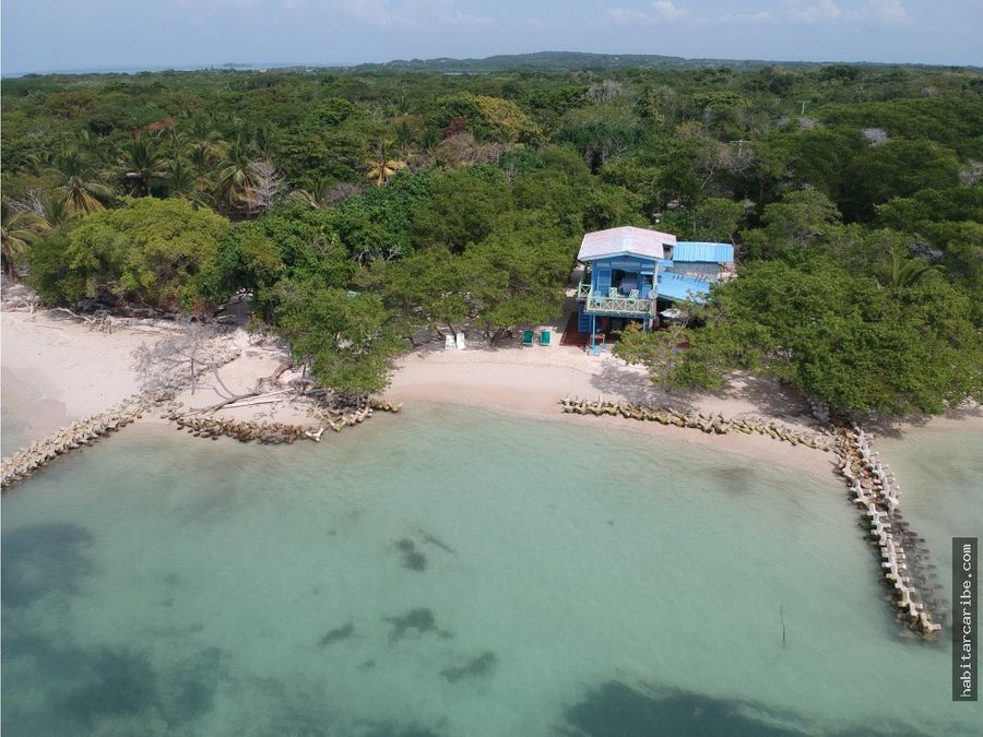 lote y casa de playa en venta en baru