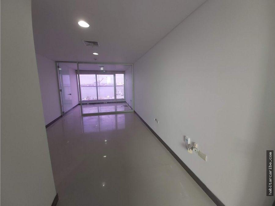 oficina en arriendo en bocagrande torre grupo area