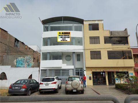 se alquila edificio completo comercial