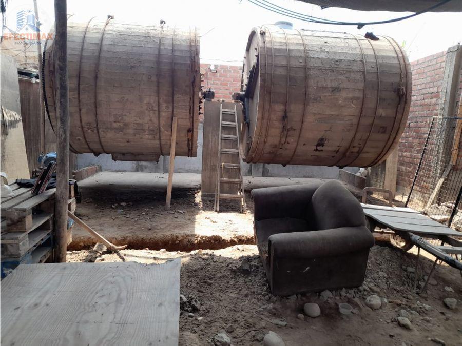venta de terreno en zona industrial puente piedra
