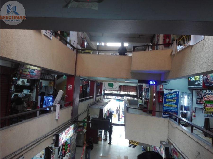 venta de tienda comercial area 75 en galeria wilson