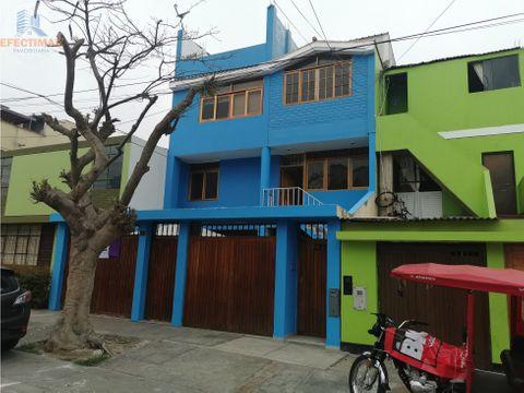 alquiler de casa para oficina en distrito de san miguel