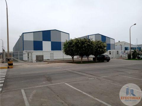 alquiler de local industrial en lurin