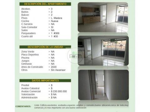 venta apartamento bello 77 m2 230 millones