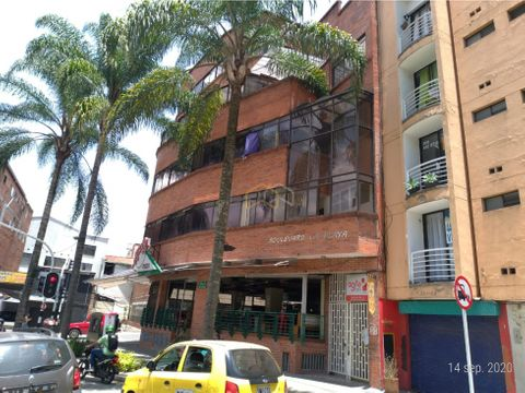 vendo 24 apartaestudios 1 local sec teatro pablo tobon uribe