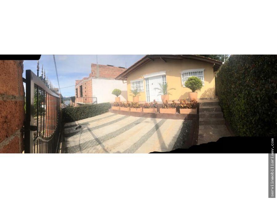 vendo casa campestre carmen de viboral 416m2 544